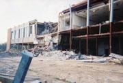 Broadwater Hotel in Biloxi, Mississippi following Hurricane Katrina