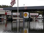 The picture of this gas station near Lubbock, Texas, was taken in September, 2008.