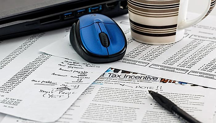 A few extra steps before and during tax preparation can prevent a much longer list of headaches down the road. (Source: stevepb/Pixabay)