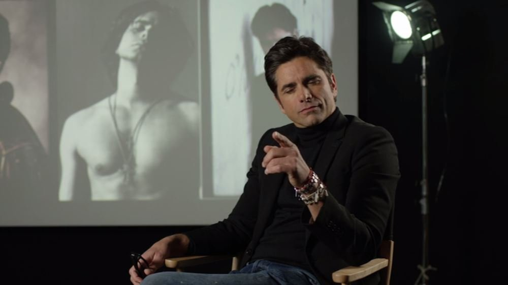 John Stamos Freaks Out at Netflix Office in 'Leaked' Video