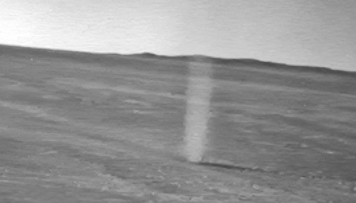 Dust devils on Mars are created like those on Earth. (Source: NASA/CNN)