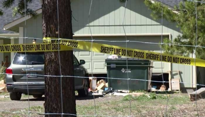 Medics responding to a woman with a broken arm found the body of the woman's sister, who had died five months earlier. (Source:  KTVZ/CNN)