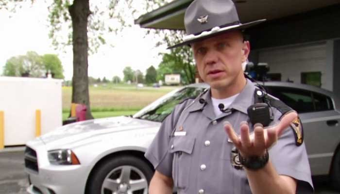 Trooper rescues baby from fiery Licking County crash