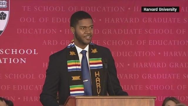 Graduate delivers convocation speech in spoken-word poetry
