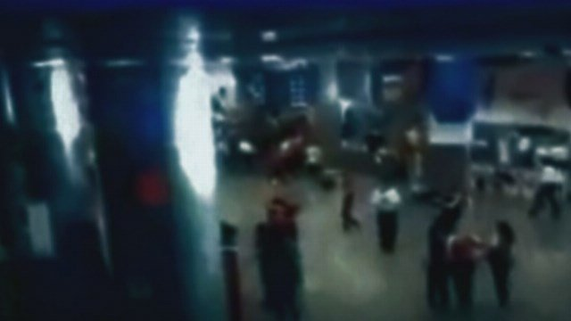 Security camera captures suicide bomb blast at Istanbul airport