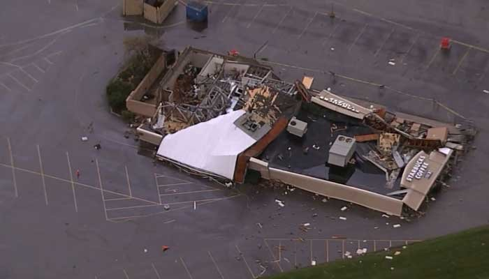 Several tornadoes likely hit Indiana, Ohio; no bad injuries