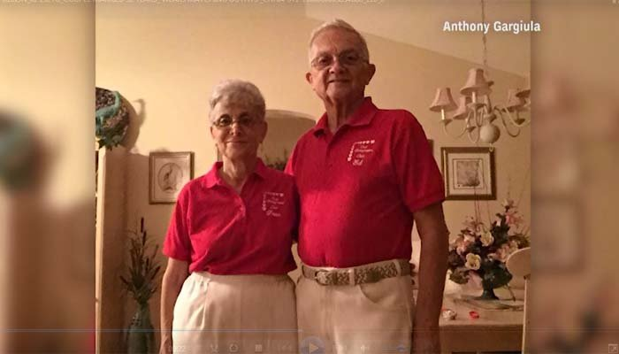 Grandparents text grandson matching outfits daily