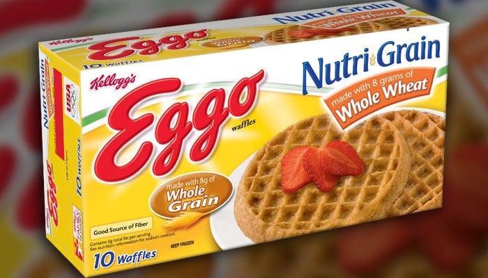 Kellogg company issues recall of Eggo Nutri-Grain waffles