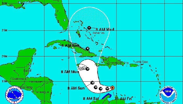 Hurricane Matthew strengthens into category 5 storm