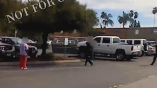 GRAPHIC: El Cajon shooting cell phone video