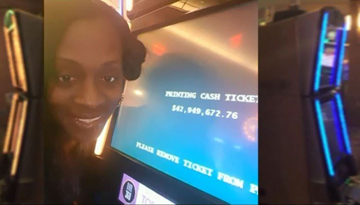 Woman wins $43 million in slot machine, told it was a malfunction