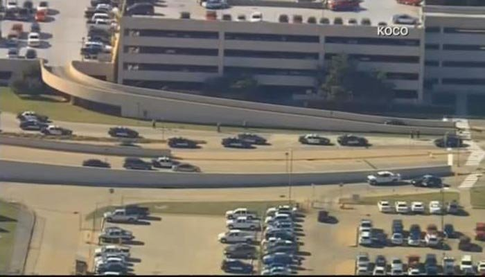 One person shot at airport in Oklahoma City