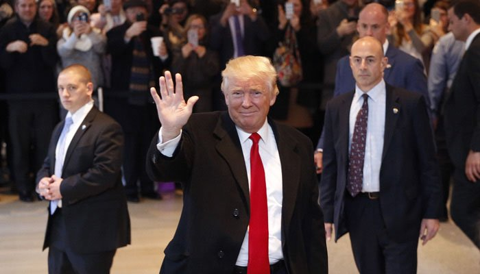 Trump says He's Leaving His Business to Focus on Presidency