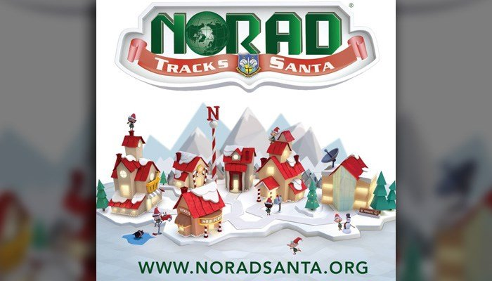 NORAD Is Ready To Track Santa's Flight