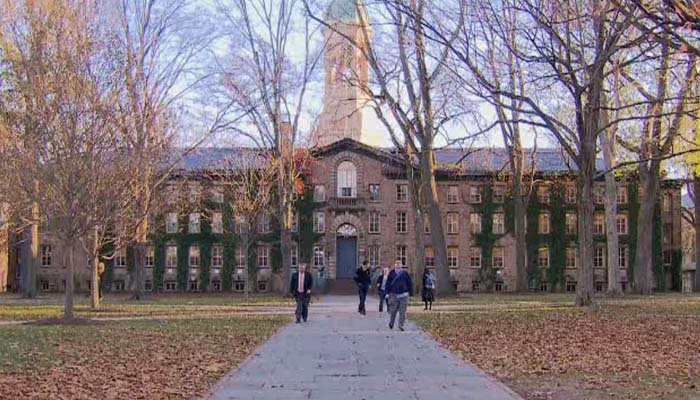 Princeton suspends men's swim team over offensive materials