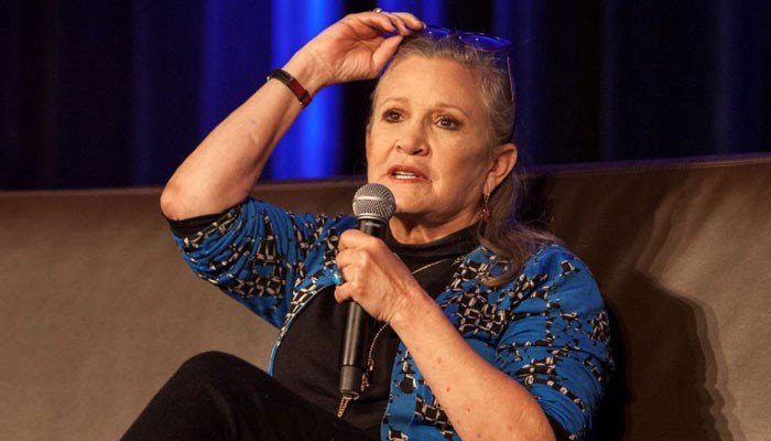 Fisher is perhaps best known as Princess Leia from the original Star Wars.(Source: Barry Brecheisen/Invision/AP)