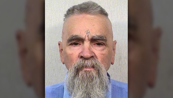 This Oct. 8, 2014 file photo provided by the California Department of Corrections shows 80-year-old serial killer Charles Manson. (Source: AP Photos/California Department of Corrections)