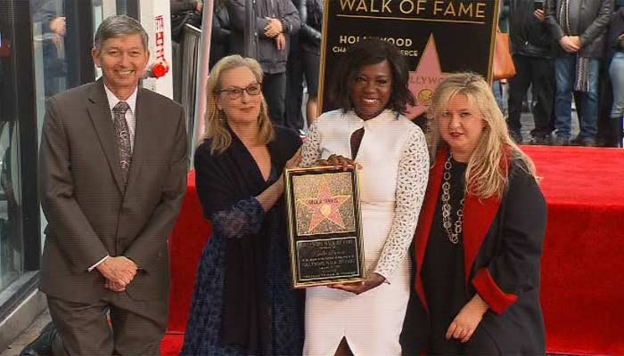 Viola Davis gets star on Hollywood Walk of Fame