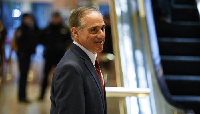 David Shulkin was named as Trump's pick to lead the VA. (Source: AP Photo)