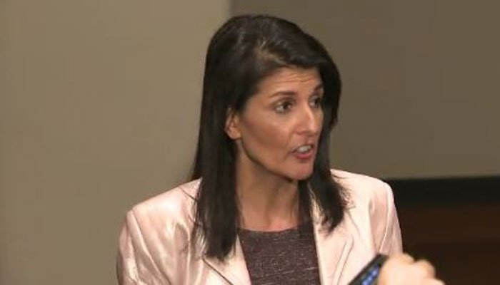 Nikki Haley, U.S. ambassador to the United Nations, said America will be looking at the nations supplying Iran for the tests. (Source: CNN)
