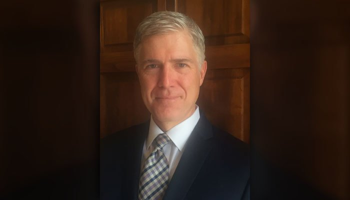 This photo provided by the 10th U.S. Circuit Court of Appeals shows Judge Neil Gorsuch. (Source: 10th U.S. Circuit Court of Appeals via AP)
