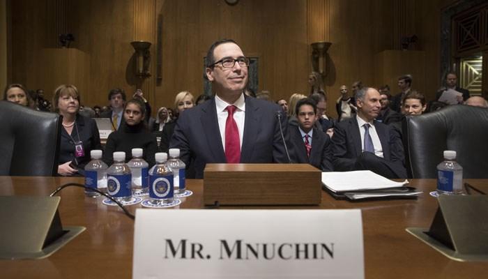 Steve Mnuchin is Trump's pick as treasury secretary. (AP Photo/J. Scott Applewhite)