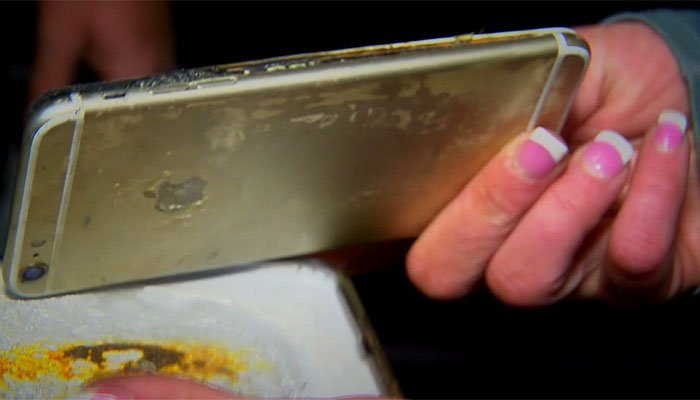 IPhone 6 Plus Catches Fire on Nightstand, Awakens Sleeping Owner