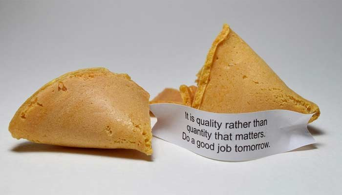 Wonton Food Inc produces 4.5 million fortune cookies a day. (Source: Pixabay)