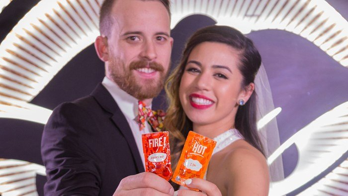 Some lucky couple can be the first to tie the knot in the Taco Bell Cantina Chapel in Las Vegas this summer. (Source:  Facebook/Taco Bell)