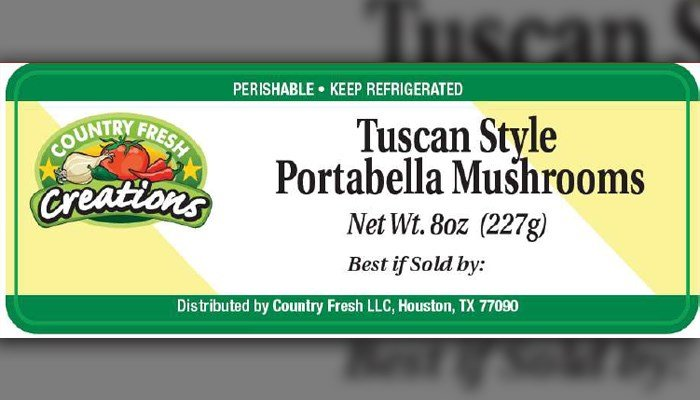 Country Fresh issued a recall for its products that contain cheese possibly tainted with listeria. (Source: Country Fresh/FDA)
