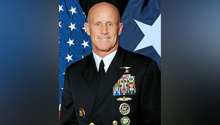 Former Vice Admiral Bob Harward was reportedly a frontrunner to become President Donald Trump's national security adviser. (Source: Wikipedia)