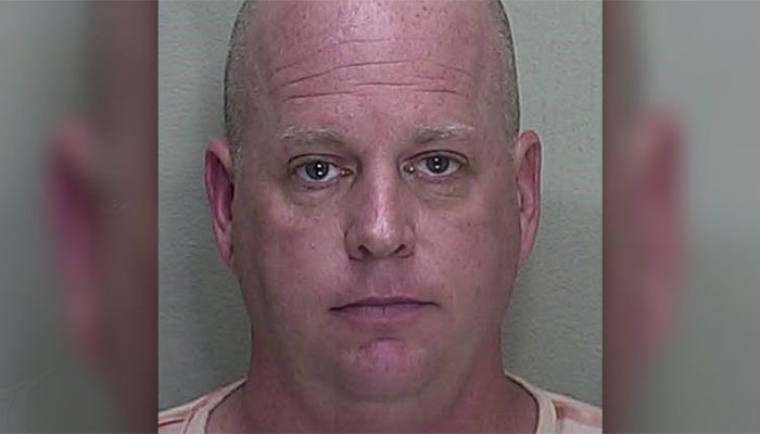 Mark Barnett, 48, concoted a hair-brained bomb attempt to tank Target's stock prices. (Source: Marion County Sheriff/CNN)