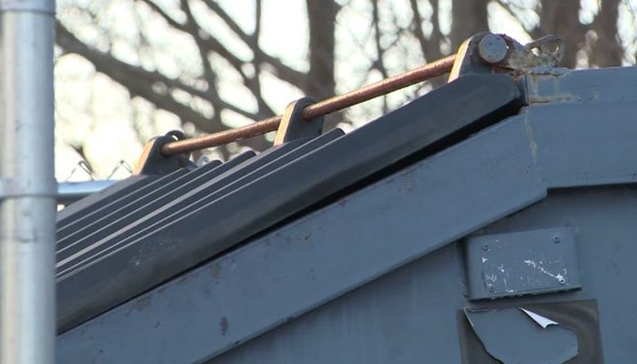 Boy injured while playing in dumpster