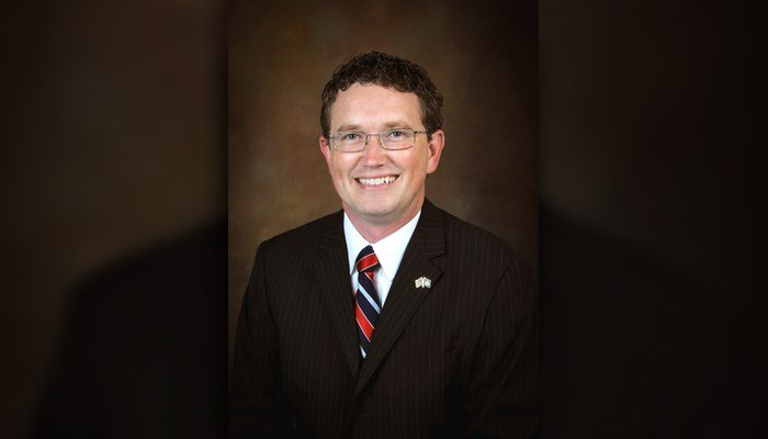Rep. Thomas Massie, R-KY, filed a bill to abolish the Department of Education. (Source: Official photo)