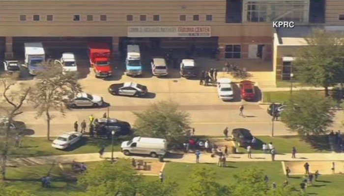 Texas hospital shooting: 200 police swarm area