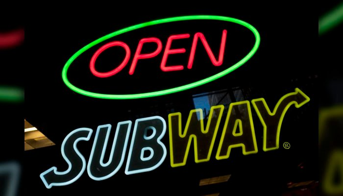 A DNA test on the chicken served at Subway restaurants shows the meat was only about 50 percent chicken, with the remainder made of soy. (Source: AP)