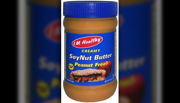 The FDA said 12 people – 11 of them children younger than 18 -  were sickened by the E. coli strain in five states linked to I.M. Healthy  Original Creamy SoyNut Butter. (Source:  SoyNut Butter Co./FDA)