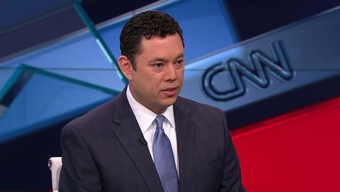 Rep. Jason Chaffetz spoke in a CNN interview Tuesday. He said low-income Americans would need to decide between healthcare and a 'new iPhone.' (Source: CNN)