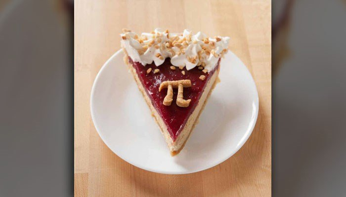 March 14 is National Pi Day, honoring 3.14, the ratio of a circle's circumference to its diameter. The most popular way to celebrate is with pie. (Source: Grand Traverse Pie Company/Facebook)