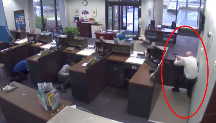 Deadly Rockford Bank Shootout Caught on Camera; No Charges For Security Guard