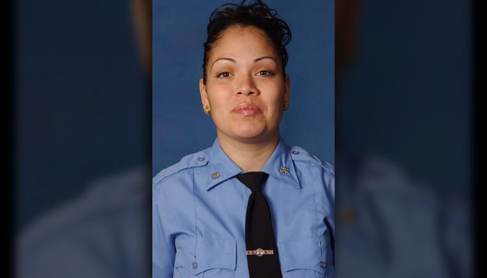 An EMT in New York has died after being hit by a stolen ambulance. (Source: WPIX/CNN)