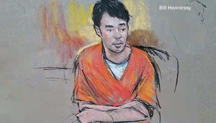 President Donald Trump said last Saturday that the arrested suspect, 26-year-old Jonathan Tran, was disturbed. (Source: Bill Hennessy/CNN)