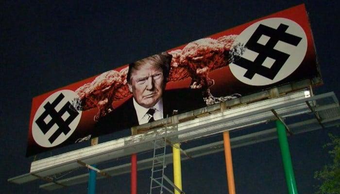 This billboard in Phoenix is causing quite the conversation. (Source: KNXV via CNN)