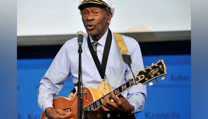 Chuck Berry died Saturday, police in Missouri said. (AP Photo/Josh Reynolds, File)