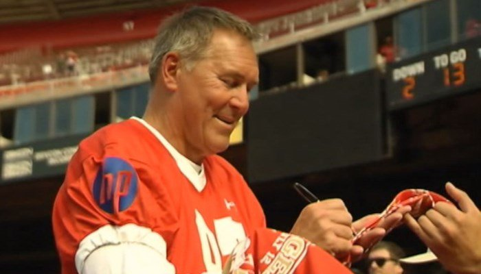 Dwight Clark, 60, blames his ALS diagnoses on his football career. (Source: KTVU via CNN)