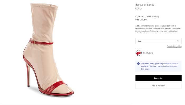 Fashion forward or fashion faux pas? (Source: Nordstrom.com)