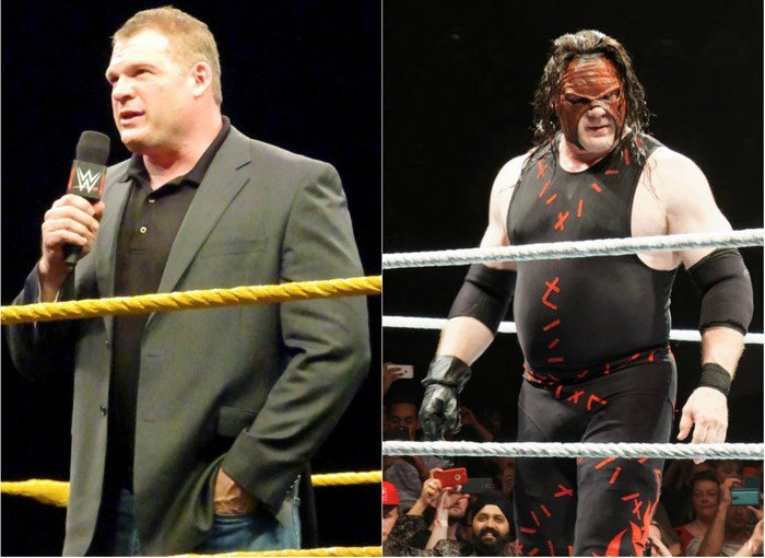 The WWE wrestler Kane, real name Glenn Jacobs, is preparing to run for the office of mayor in Knox County, TN. (Source: Miguel Discart/Wikipedia)