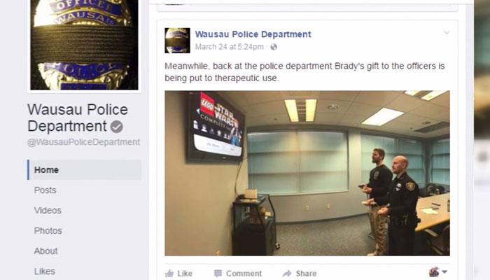 Boy donates Nintendo Wii to police dept. grieving fallen officer