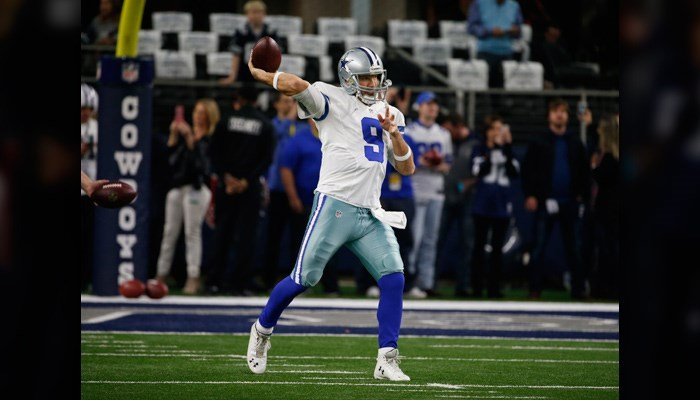 Former Dallas Cowboys quarterback Tony Romo has retired from playing football and joined the NFL on CBS team, the network announced. (Source: AP Photo/Michael Ainsworth)