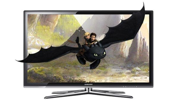 "Samsung's 55"" Class 7000 Series 3D 1080p LED HDTV has a retail price of $3,299.99  (Source: Samsung)"